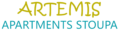 Artemis apartments Stoupa Messinia Logo